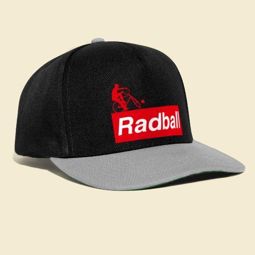 Radball | Red - Snapback Cap