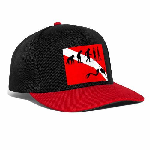 Scuba Evolution - Snapback Cap