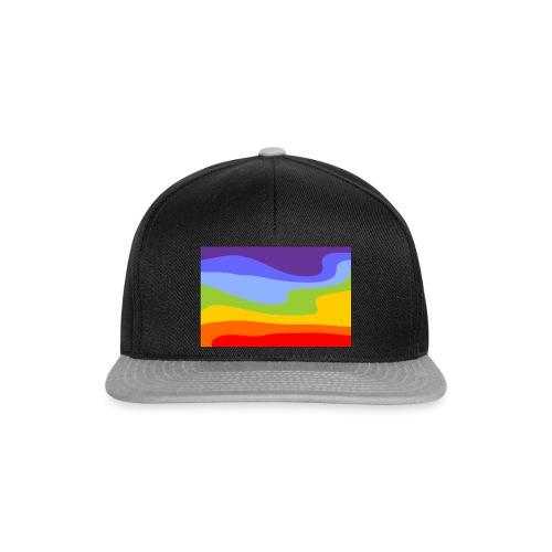 Hintergrund Regenbogen Fluss - Snapback Cap