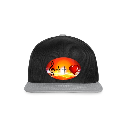Music and Hearth - Snapback Cap