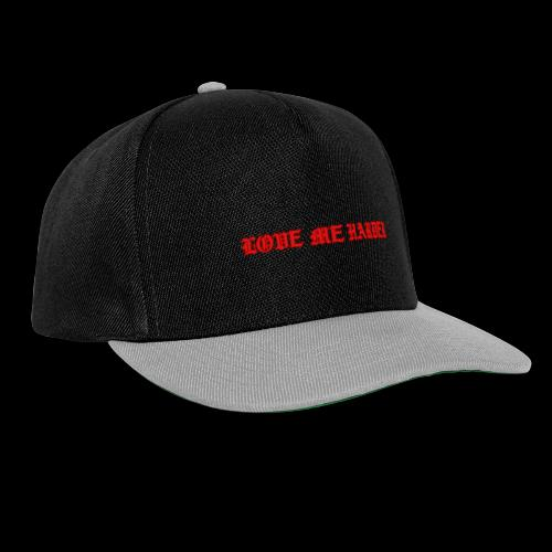 LOVE ME HARDER - Gorra Snapback