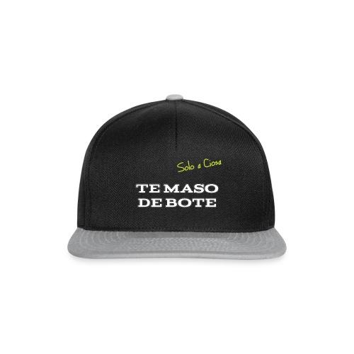 TE MASO DE BOTE - Snapback Cap