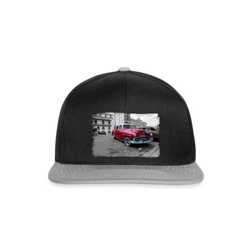 macchina rossa lucida - Snapback Cap