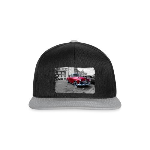 shiny red car - Snapback Cap