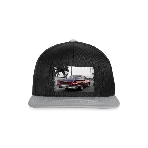 wine red car - Snapback Cap