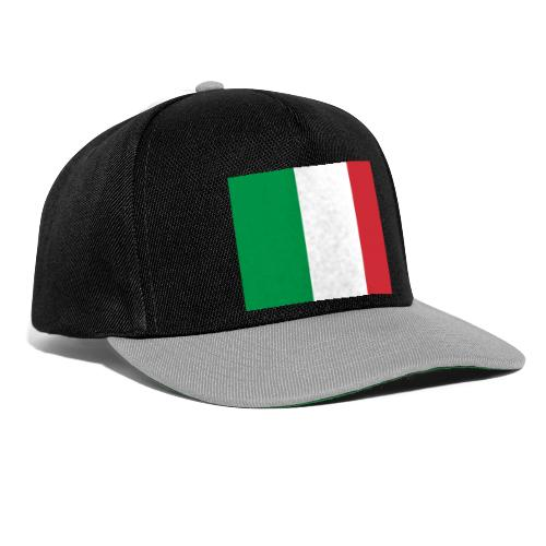 2000px Flag of Italy svg - Snapback Cap