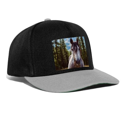 Nature Horse by #CreativeArts - Snapback Cap