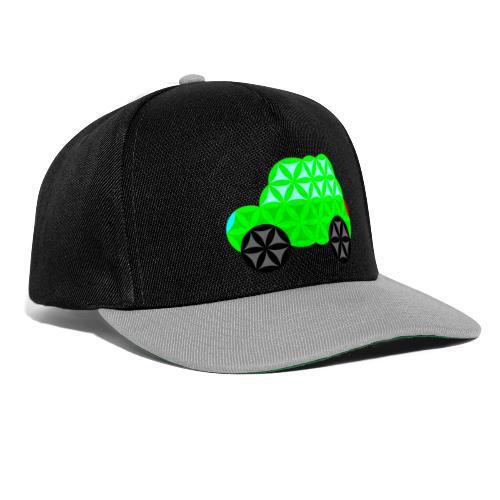The Car Of Life - 01, Sacred Shapes, L/Green. - Snapback Cap