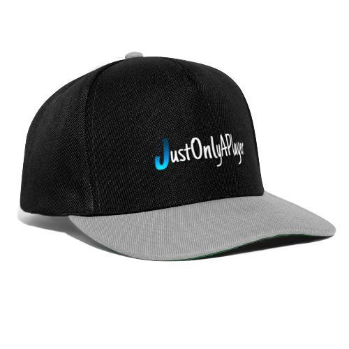 JustOnlyAPlayer Design Text - Snapback Cap