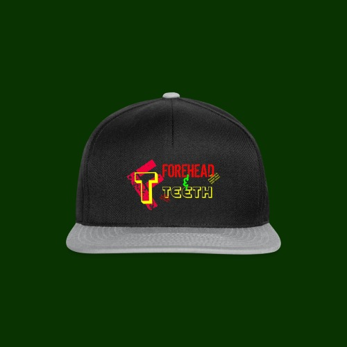 forehead and teeth full design - Snapback Cap