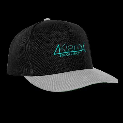 Logo - vierKlang acoustics - Snapback Cap