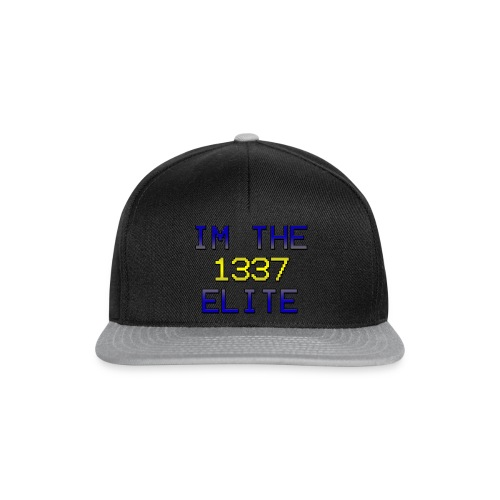 Spreadshirt1337-png - Snapbackkeps