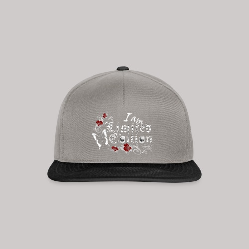 simply wild limited edition on black - Snapback Cap
