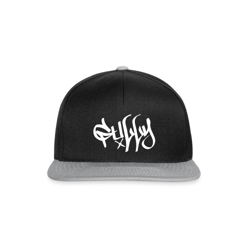 Gully White X Knifes - Snapback Cap