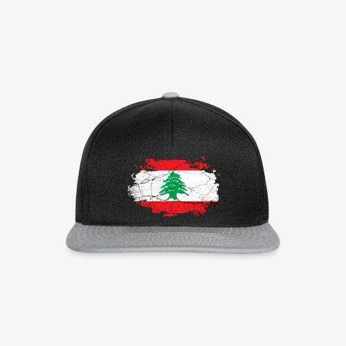 Libanon Libanesische Flagge - Snapback Cap