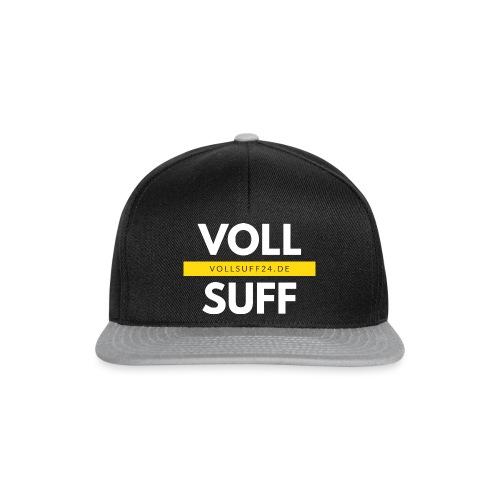 VOLLSUFF-Randlos - Snapback Cap