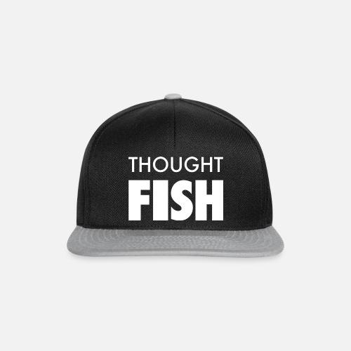 Thoughtfish font logo - Snapback Cap