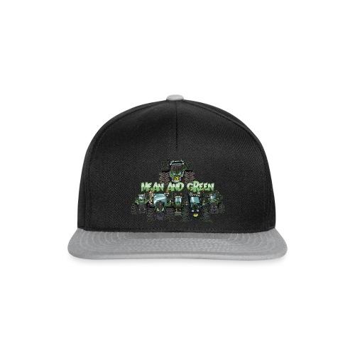 MeanAndGreen6F - Snapback cap