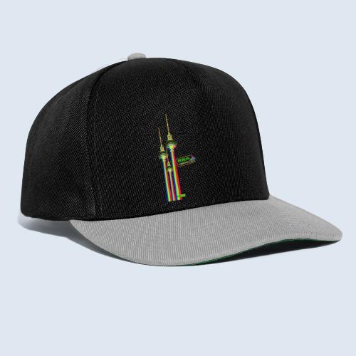 "Berliner Original ""Fernsehturm III"" PopArt Design - Snapback Cap"