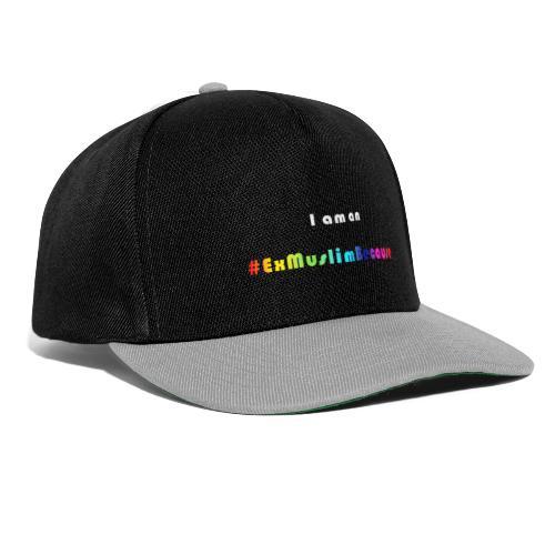 I am Exmuslim Because - Snapback cap
