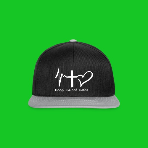 Hoop geloof en liefde - Snapback cap