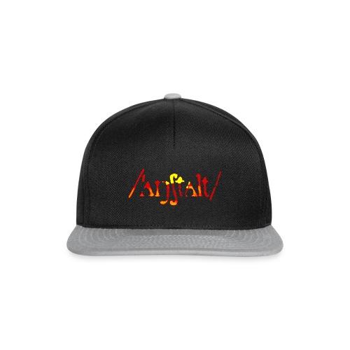 logo gerastert (flamme) - Snapback Cap