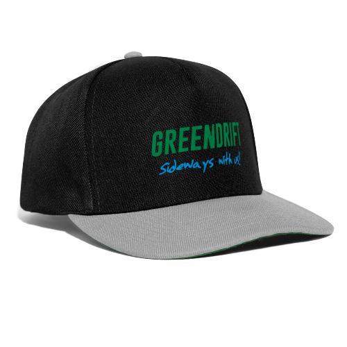 GreenDrift Logo Design 2020 - Snapback-caps