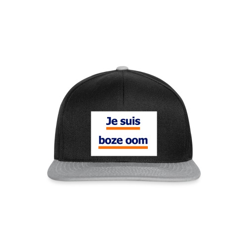 boze oom - Snapback cap