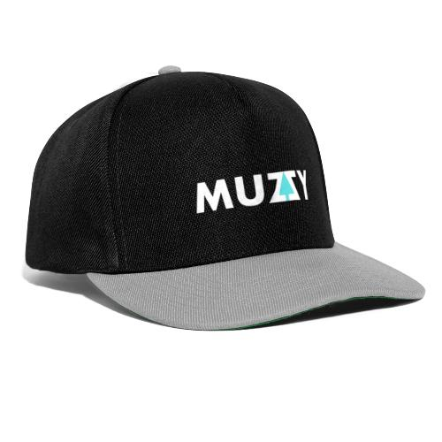 Muzzy White Label - Snapback Cap