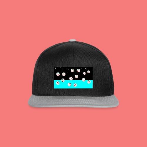 emoji looking for spacebar - Snapback Cap
