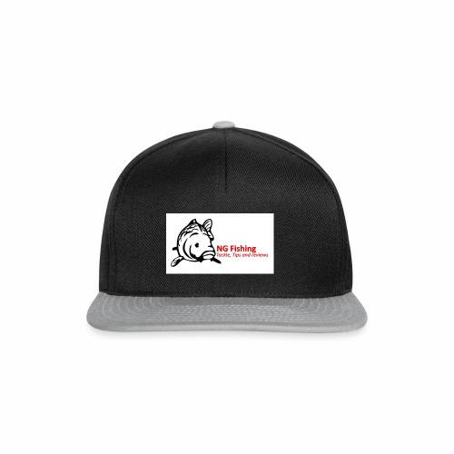 ng fishing logo new - Snapback Cap