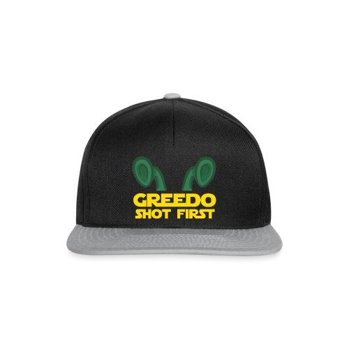 GreedoShotFirst 02 - Snapback cap