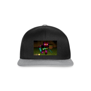 AwesomeSauce Minecraft 2 Swords - Snapback Cap