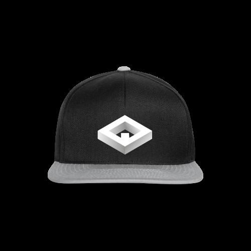 Black 3D Q-WHITE T-Shirt - Snapback Cap