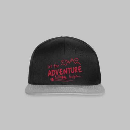 Let the Adventure begin - Snapback Cap