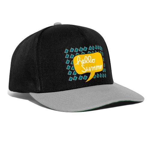 Hello Summer - Snapback Cap