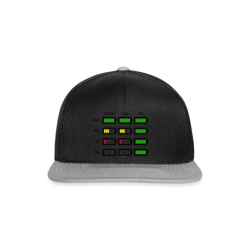 Low battery ! - Casquette snapback