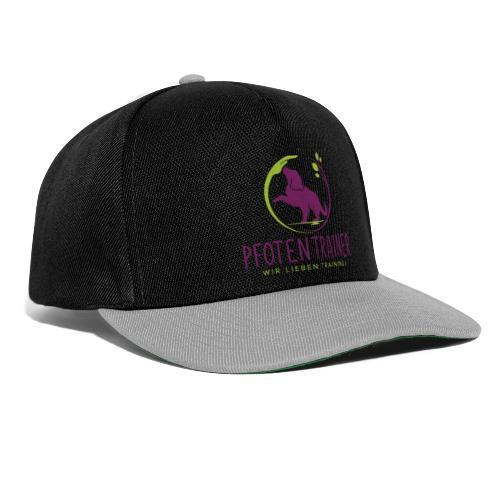 Pfotentrainer_groß - Snapback Cap