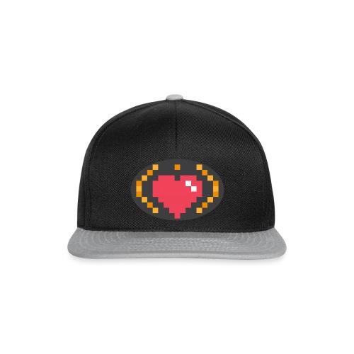 Digital_Heart_Isle - Snapback Cap