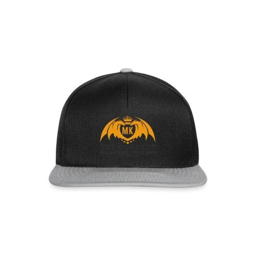 MKlogo dragonsletterhORGinstr - Snapback Cap