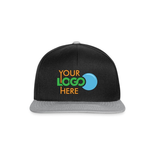 Your Logo Here - Snapback Cap