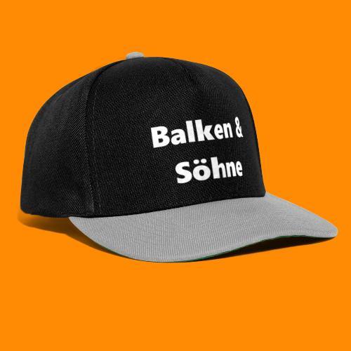 Balken & Söhne - Snapback Cap