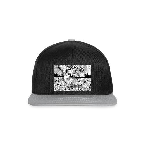 Delirio in bianco e nero - Snapback Cap