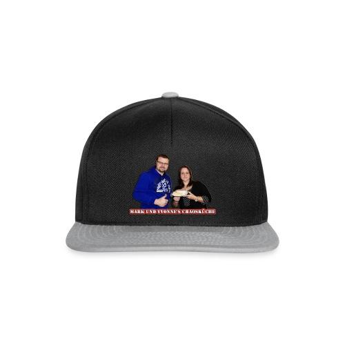 Mark und Yvonne Chaoskueche Logo - Snapback Cap