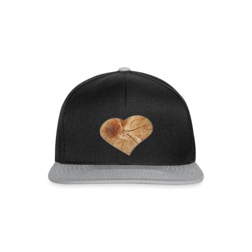 Heart_Wood_Isle - Snapback Cap