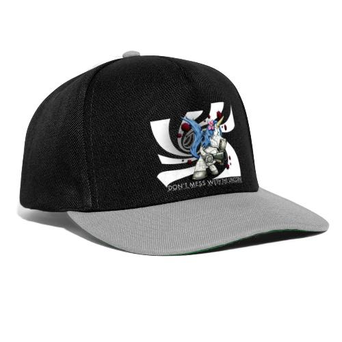 Don't mess with the unicorn - Snapback Cap