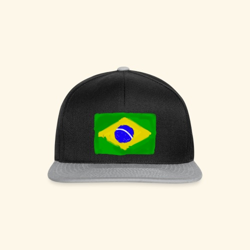 Brazilian flag InWatercolours - Snapbackkeps