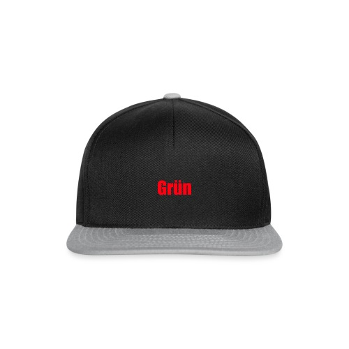 Grün - Snapback Cap