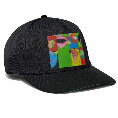 Lovebirds - Liebesvögel - Snapback Cap