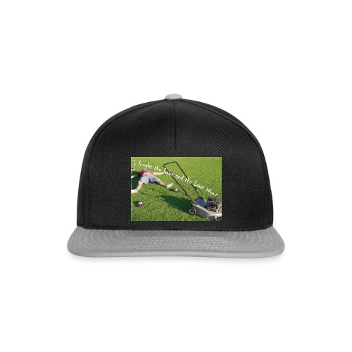 I fought the lawn - Snapback Cap